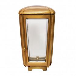 Felinar Bronz Inaltime 26 cm x Latime 14 cm xAdancime14 cm