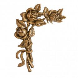 Floare Bronz Inaltime 22 x Latime 16 x Adancime 2 cm