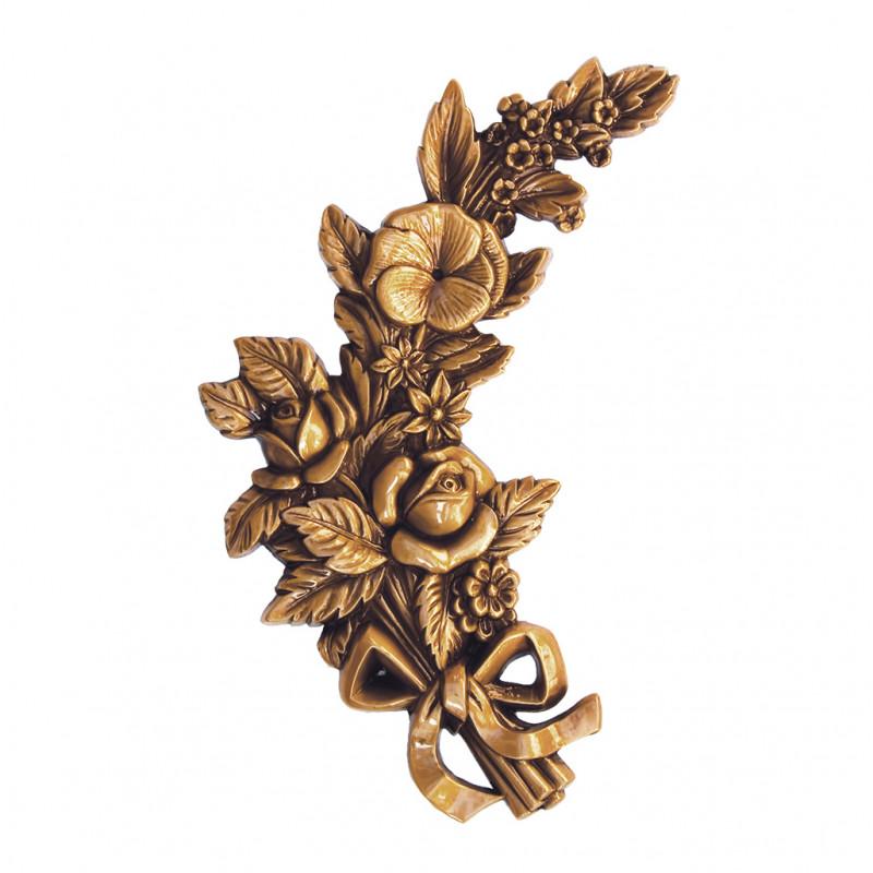 Floare Bronz Inaltime 25 x Latime 15 x Adancime 2 cm