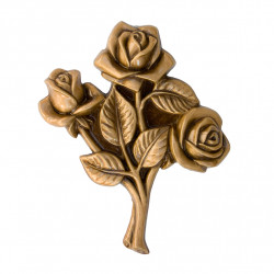 Floare Bronz Inaltime 12.5 x Latime 10.5 x Adancime 1.5 cm