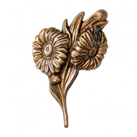 Floare Bronz  13.5 x 12 cm
