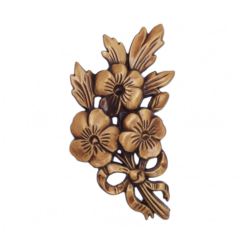 Floare Bronz Inaltime 13.5 x Latime 8.5 cm