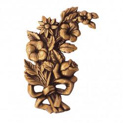 Floare Bronz Inaltime 14 x Latime 8 x Adancime 1 cm