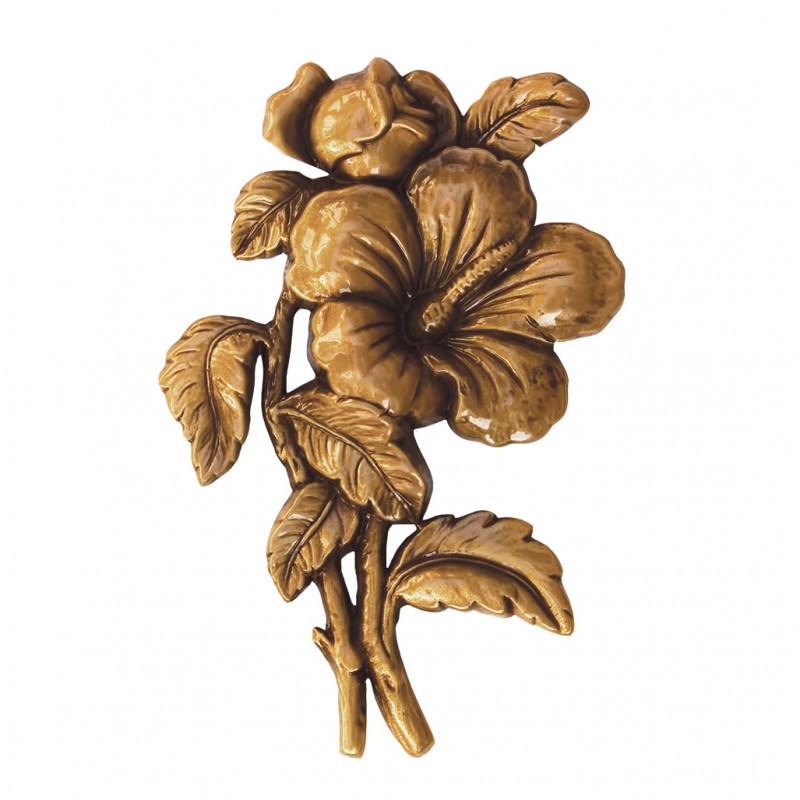 Floare Bronz Inaltime 15 x Latime 10 cm