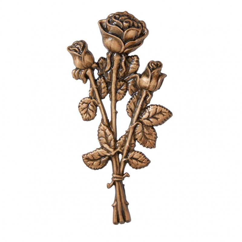 Floare Bronz Inaltime 18 cm