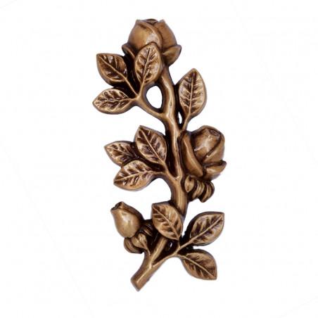Floare Bronz  21.5 x 10 cm
