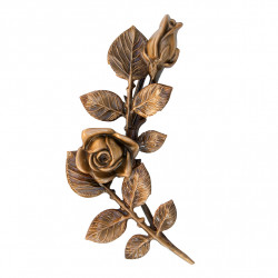 Floare Bronz Inaltime 24 x Latime 10 cm