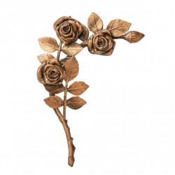 Floare Bronz Inaltime 24 x Latime 19 cm