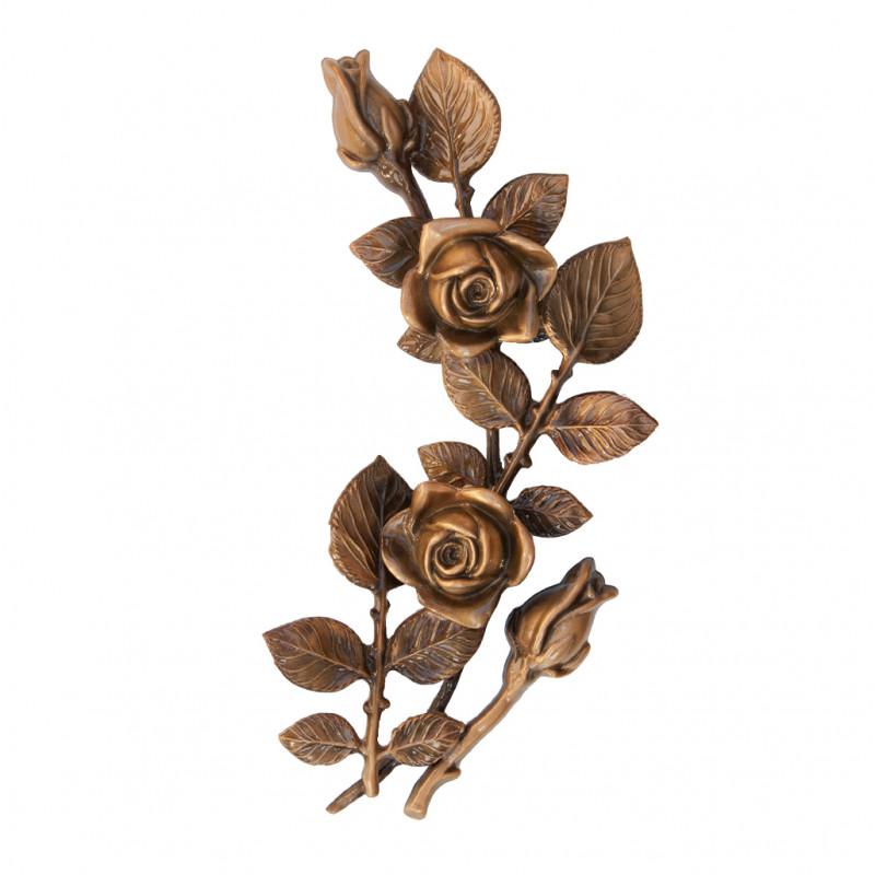 Floare Bronz Inaltime 30 x Latime 13 cm