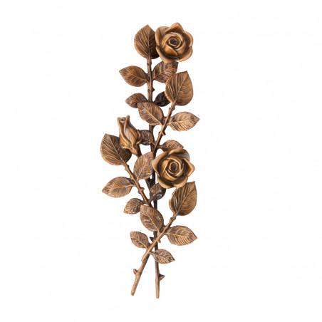 Floare Bronz Inaltime 40 x Latime 14 cm