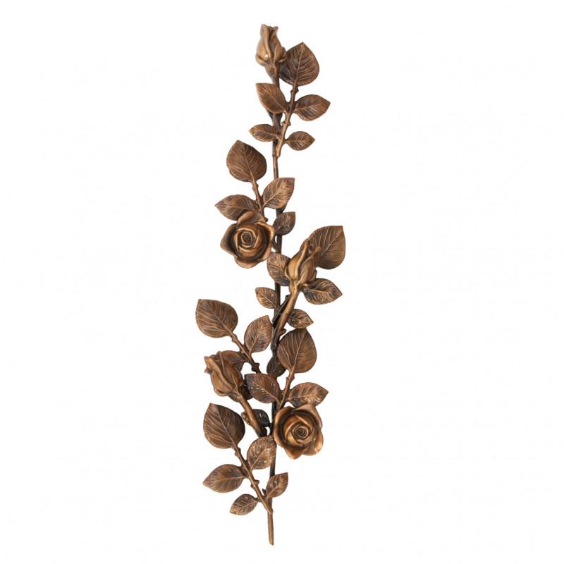 Floare Bronz Inaltime 60 x Latime 15 cm