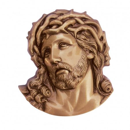 Figura Hristos Bronz 11.5 x 10.5 cm