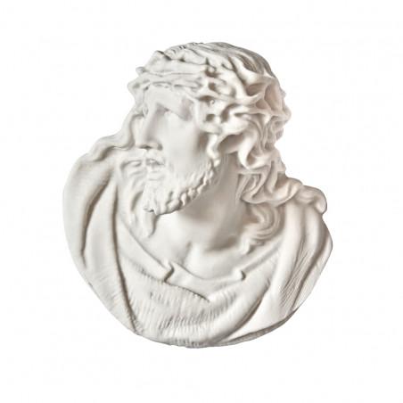 Marvanyporbol keszult Aplikacio Krisztus m 12 x sz 11 cm
