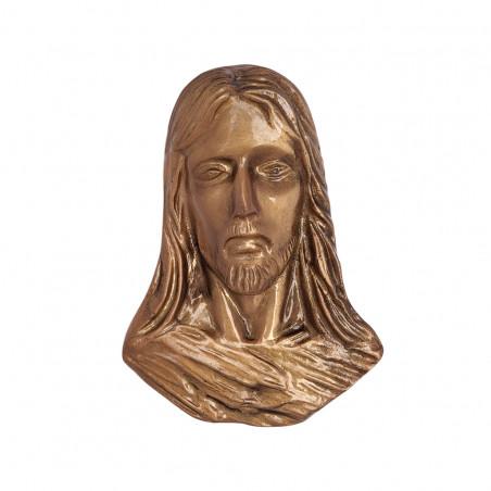 Figura Hristos Bronz  14 x 10.5 cm