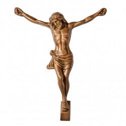 Hristos Bronz Inaltime 14 x Latime 11 cm