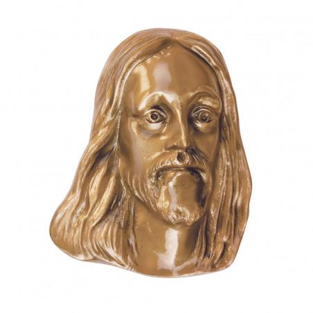 Krisztus Bronz Aplikacio 18x2.5 cm