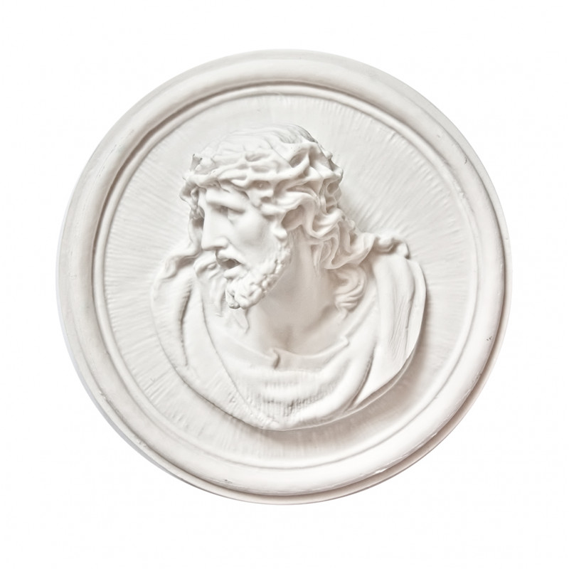 Hristos din Marmura Reconstituita Inaltime 18 x Latime 7 cm