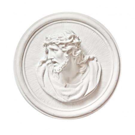 Marvanyporbol keszult Aplikacio Krisztus m 18 x sz 7 cm