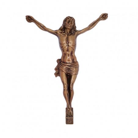 Krisztus Bronz Keresztrefeszites 22x16 cm