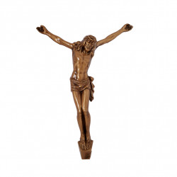 Hristos Bronz Inaltime 26.5 x Latime 19 cm