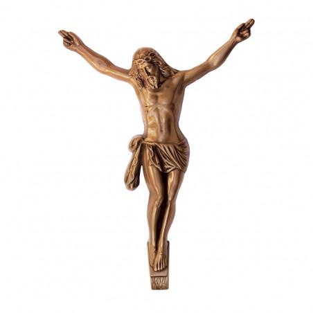 Krisztus Bronz Keresztrefeszites29x24x4.5 cm