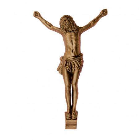 Krisztus Bronz Keresztrefeszites 40 cm