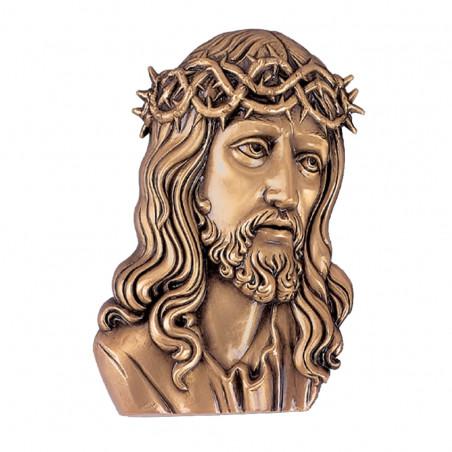 Krisztus Bronz Aplikacio 8 x 6 x2cm