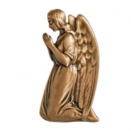 Angyal Bronz Aplikacio Jobboldali 12 x 6.5 cm