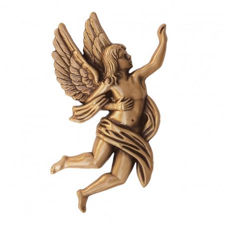 Angyal Bronz Aplikacio Baloldali 17 x 9.5 x 1.5 cm