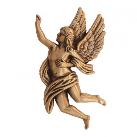 Angyal Bronz Aplikacio Jobboldali 17 x 9.5 x 1.5 cm