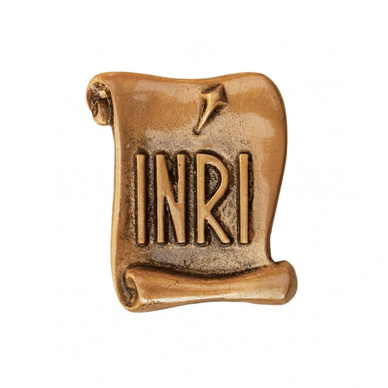 INRI Bronz Inaltime 6.5 x Latime 4.5 cm
