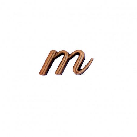 Litera Bronz M Cursiv Espresso 3 cm fara prindere