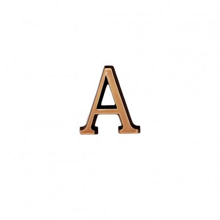 A Roman betutipus bronz m 4cm