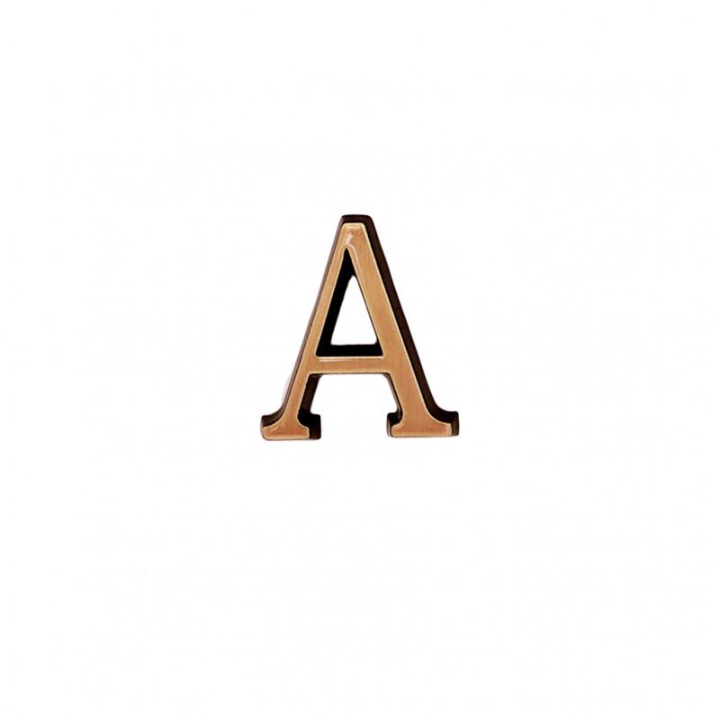 Litere Bronz Roman A 6 cm