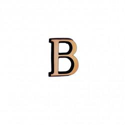 Litere Bronz Roman B 3 cm