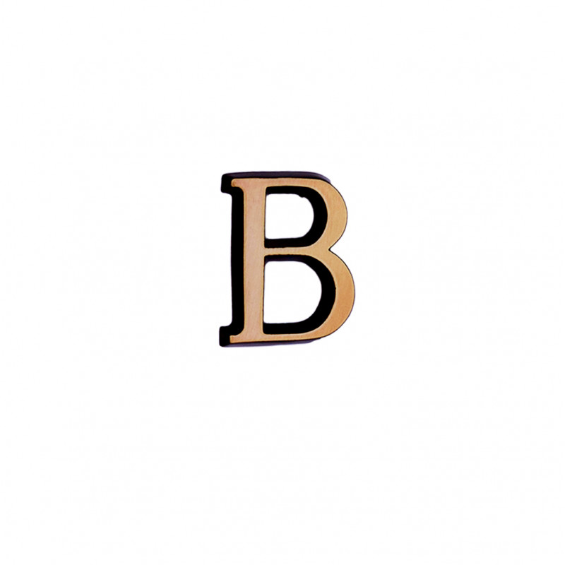 Litere Bronz Roman B 4 cm