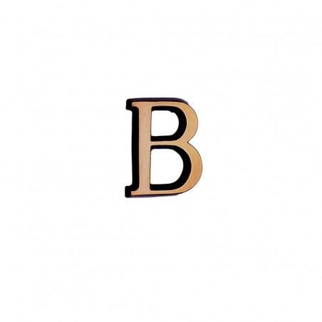 Litere Bronz Roman B 5 cm