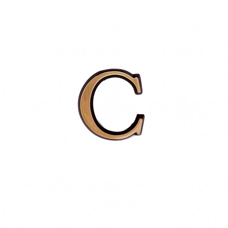 Litere Bronz Roman C 2 cm