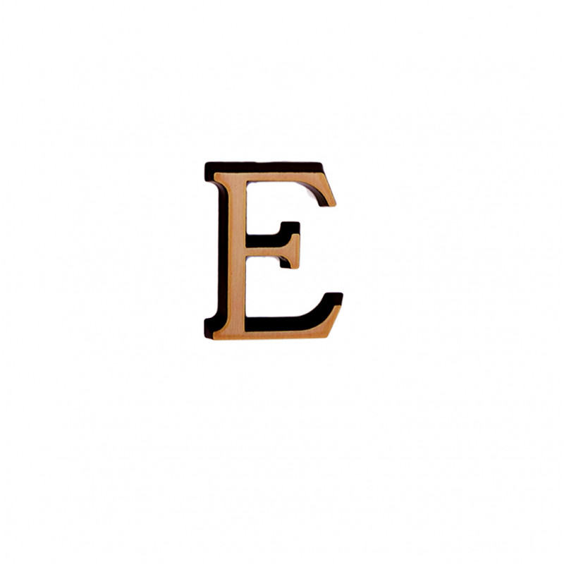 Litere Bronz Roman E 3 cm