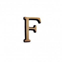 Litere Bronz Roman F 2 cm