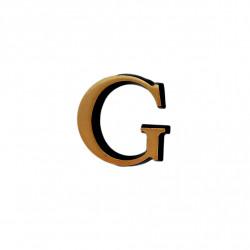 Litere Bronz Roman G 5 cm