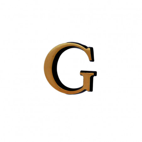 Litere Bronz Roman G 6 cm