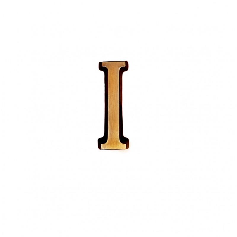 Litere Bronz Roman I 3 cm