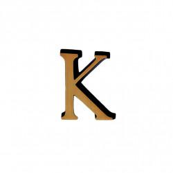 Litere Bronz Roman K 3 cm
