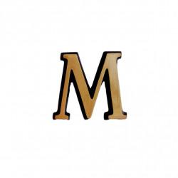 Litere Bronz Roman M 2 cm