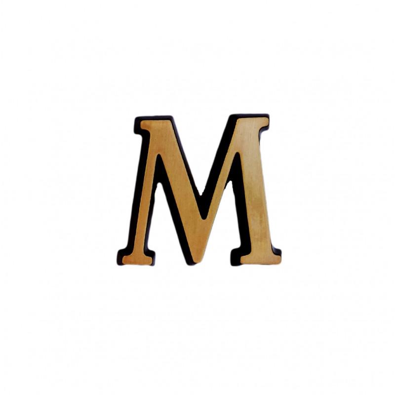 Litere Bronz Roman M 3 cm