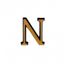 Litere Bronz Roman N 3 cm