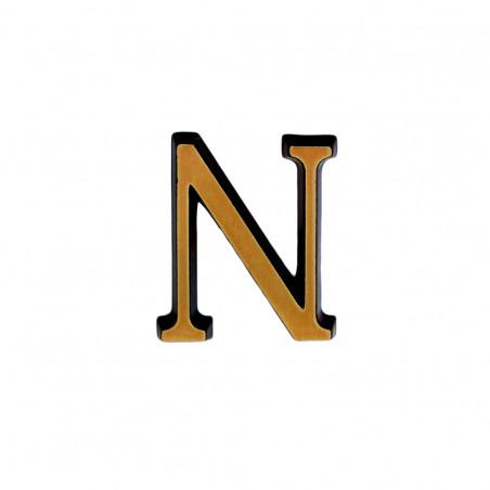 N Roman betutipus bronz m 4cm