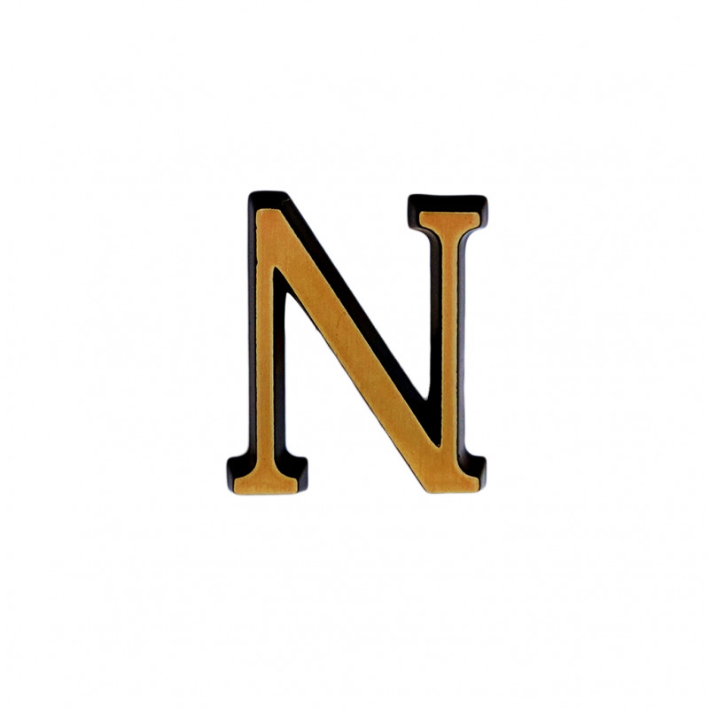 Litere Bronz Roman N 5 cm