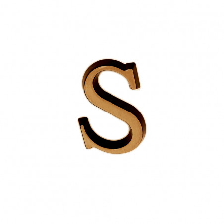 Litere Bronz Roman S 3 cm